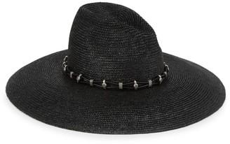 Saint Laurent Western Straw Hat