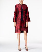 B Michael Printed Evening Topper Jacket