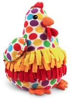 Melissa & Doug Toddler 'Beeposh -Dotty Chicken' Plush Toy