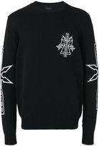 Marcelo Burlon County of Milan 'Pablo' sweatshirt - men - Cotton - XXS