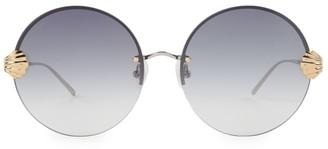 For Art's Sake Goddess 60MM Round Sunglasses