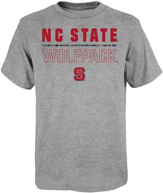 "NCAA Unbranded Boy's 4-20 North Carolina State Wolfpack ""Launch"" Short Sleeve Tee"