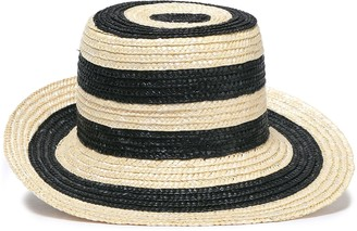 Eugenia Kim Striped Straw Sun Hat