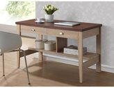 Baxton Studio Fillmore Sonoma Oak Finishing Modern Writing Desk