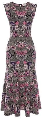 Alexander McQueen Art Nouveau Jacquard Dress