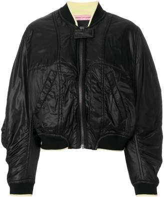 Haider Ackermann oversized bomber jacket