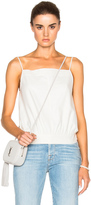 Frame Silk Top