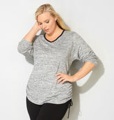 Avenue Ruched Spacedye Active Top