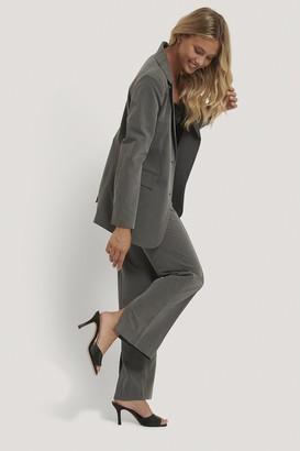 NA-KD Back Slit Suit Pants