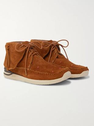 Visvim Lhamo-Folk Beaded Suede Boots
