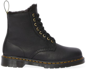 Dr. Martens 1460 Pascal Faux Fur-Lined Leather Combat Boots