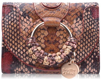 See by Chloe Hanna Snake Flap Over Purse