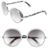 Jimmy Choo 'Andies' 54mm Round Sunglasses