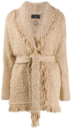 Alanui Fringed Edge Cardigan