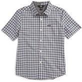 Volcom Arthur Check Woven Shirt (Toddler & Little Boys)