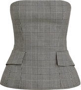 Ralph Lauren Blaine Glen Plaid Bustier
