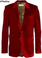 Saint Laurent velvet smoking jacket - men - Cotton/Cupro/Viscose - 50