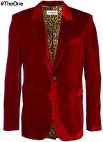 Saint Laurent velvet smoking jacket