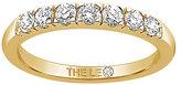 Leo Diamond 18ct gold 1/3ct I-I1 claw set diamond band