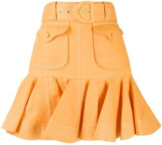 Zimmermann Super Eight safari skirt