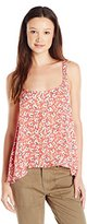 O'Neill Juniors Eliana Printed Floral Woven Tank
