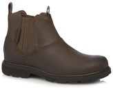 Skechers Brown 'blaine Orson' Leather Boots