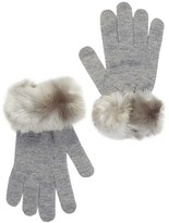 Dena Faux Fur Touch Tech Gloves