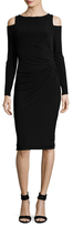 Rachel Roy Cold Shoulder Sheath Dress