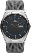 Skagen skw6078 40mm Titanium Case Metal Mineral Men's Watch