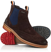 Superdry Brad Brogue Suede Chelsea Boots