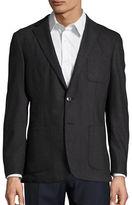 Michael Kors Wool-Blend Slim-Fit Blazer