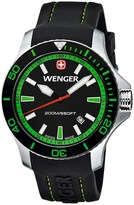Wenger Seaforce Swiss Quartz Watch - 43mm, Rubber Strap