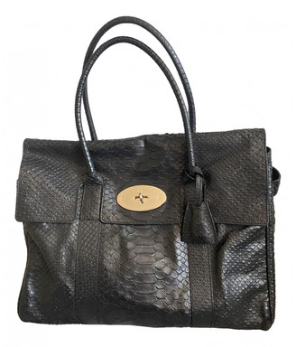 Mulberry Bayswater Black Exotic leathers Handbags