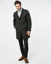 Le Château Textured Twill Crombie Coat