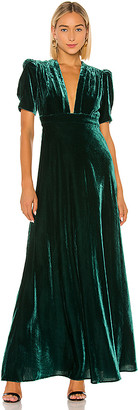 Jill Stuart Velvet Dress