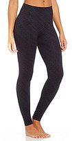 Spanx Seamless Tread-Print Ankle Leggings