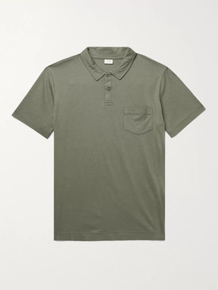 Onia Eric Cotton and Modal-Blend Jersey Polo Shirt - Men - Green