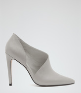 Reiss Connelly CUT-OUT ANKLE BOOTS