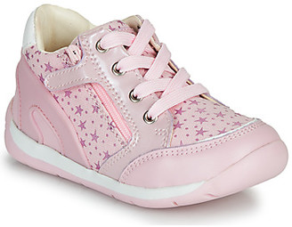 Geox B EACH POUR FILLE boys's High Boots in Pink