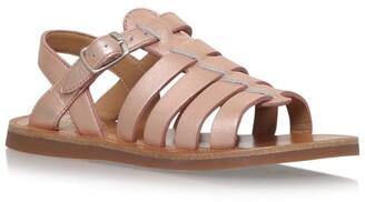 Pom D'Api Leather Plagette Sandals