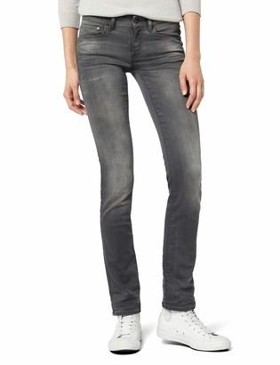 G Star Women's Attacc Mid Waist Straight Jeans