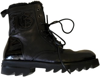 John Galliano Black Leather Boots