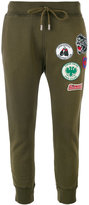 DSQUARED2 patch-embellished sweatpants - women - Cotton - XS
