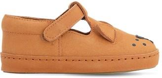 Donsje Leather Lion Sandals