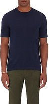 Michael Kors Men's Short-Sleeve Sweater-NAVY