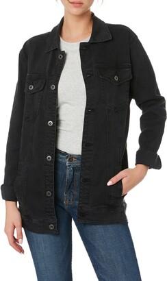 Outland Denim Ava Organic Stretch Cotton Denim Jacket