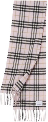 BURBERRY KIDS The Mini vintage check scarf