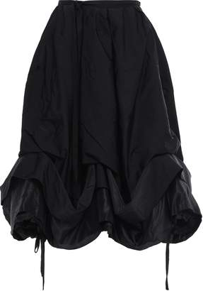 J.W.Anderson Shell And Twill-paneled Midi Skirt