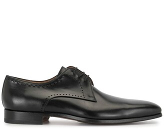 Magnanni top-stitching Derby shoes