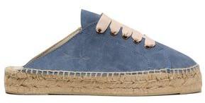 Manebi Hamptons Suede Espadrille Slip-on Sneakers